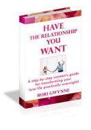 Have the Relationship You Want